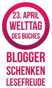 """Logo der Aktion """"Blogger schenken Lesefreude"""""""